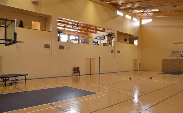 5950 rock farm road doorways international for Cheapest way to make a basketball court